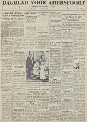 Dagblad voor Amersfoort 1947-09-02