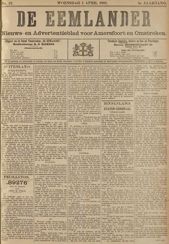 De Eemlander 1908-04-01