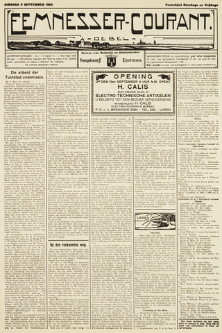 Eemnesser Courant 1924-09-09