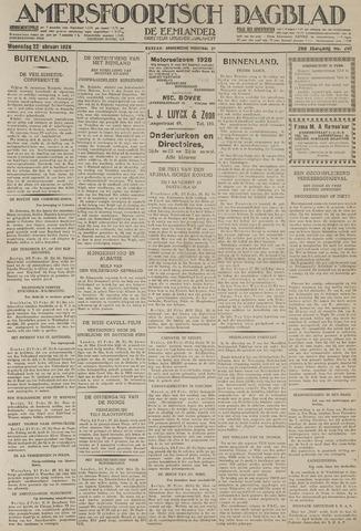 Amersfoortsch Dagblad / De Eemlander 1928-02-22