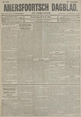 Amersfoortsch Dagblad / De Eemlander 1914-06-25