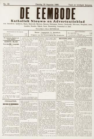 De Eembode 1908-08-29