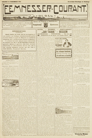 Eemnesser Courant 1924-11-14