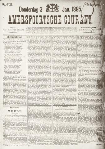 Amersfoortsche Courant 1895