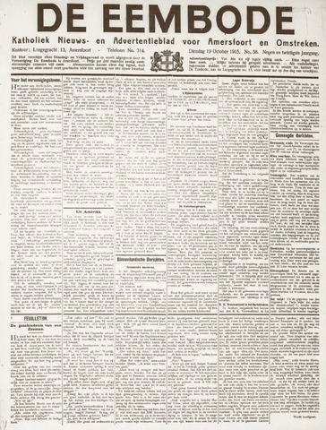 De Eembode 1915-10-19