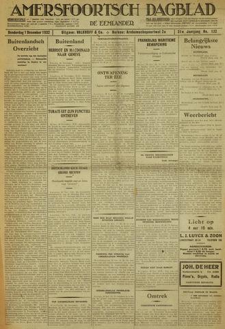 Amersfoortsch Dagblad / De Eemlander 1932-12-01