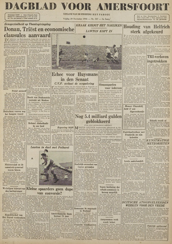 Dagblad voor Amersfoort 1946-11-29