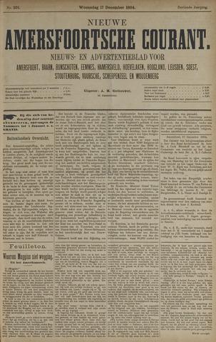 Nieuwe Amersfoortsche Courant 1884-12-17