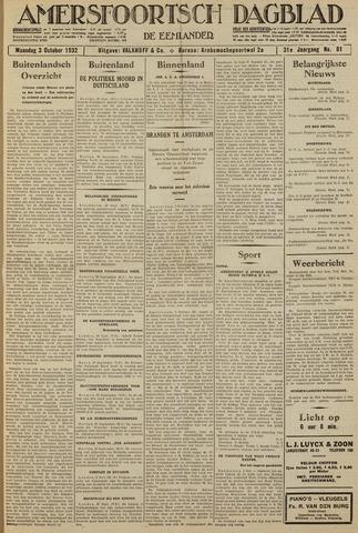 Amersfoortsch Dagblad / De Eemlander 1932-10-03