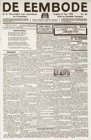 De Eembode 1924-11-14
