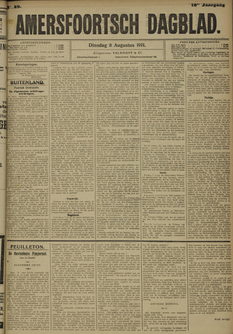 Amersfoortsch Dagblad 1911-08-08