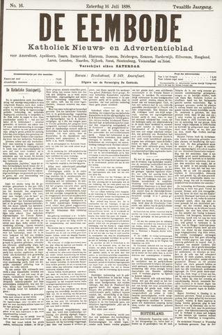 De Eembode 1898-07-16