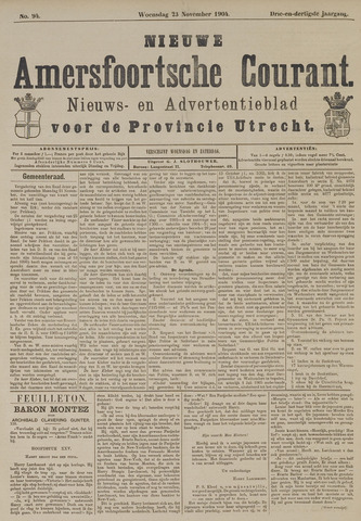 Nieuwe Amersfoortsche Courant 1904-11-23