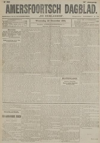 Amersfoortsch Dagblad / De Eemlander 1914-12-23