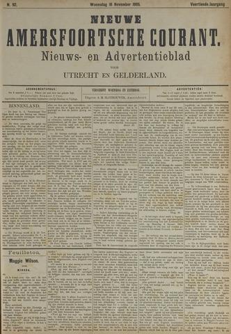 Nieuwe Amersfoortsche Courant 1885-11-18