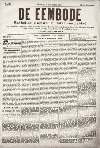De Eembode 1891-12-19