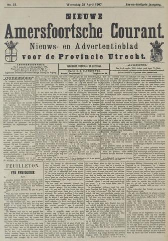 Nieuwe Amersfoortsche Courant 1907-04-24