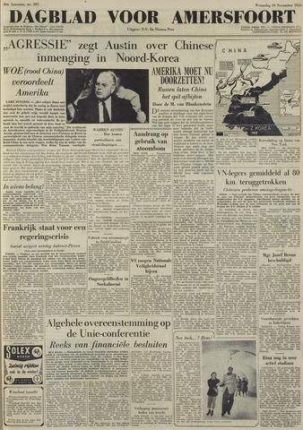 Dagblad voor Amersfoort 1950-11-29