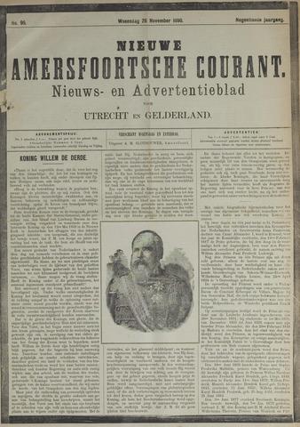 Nieuwe Amersfoortsche Courant 1890-11-26