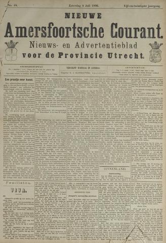 Nieuwe Amersfoortsche Courant 1896-07-04