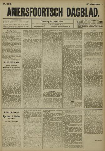 Amersfoortsch Dagblad 1910-04-26