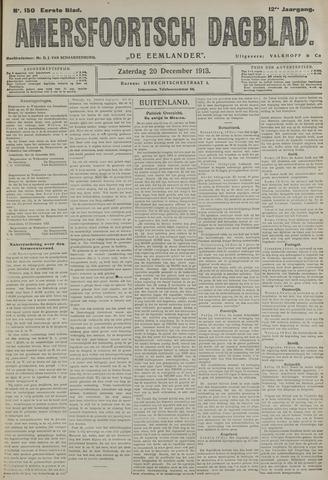 Amersfoortsch Dagblad / De Eemlander 1913-12-20
