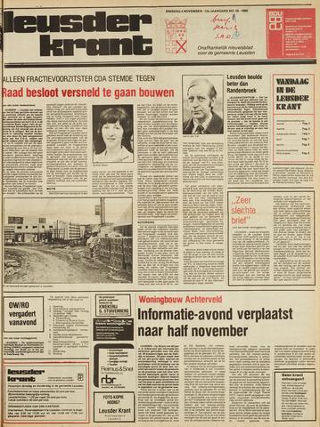 Leusder Krant 1980-11-04