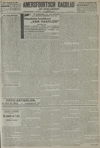 Amersfoortsch Dagblad / De Eemlander 1921-09-13