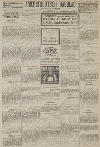 Amersfoortsch Dagblad / De Eemlander 1926-09-15