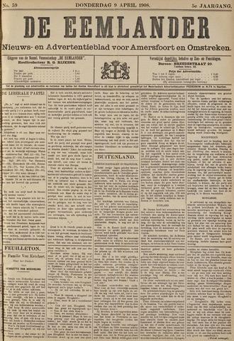 De Eemlander 1908-04-09