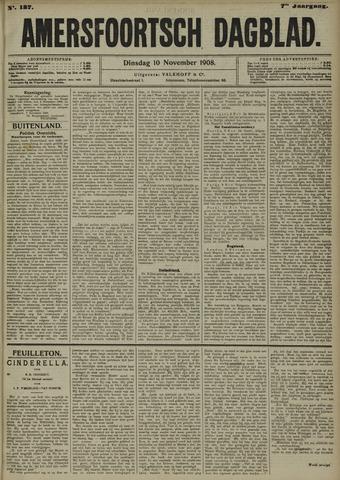 Amersfoortsch Dagblad 1908-11-10