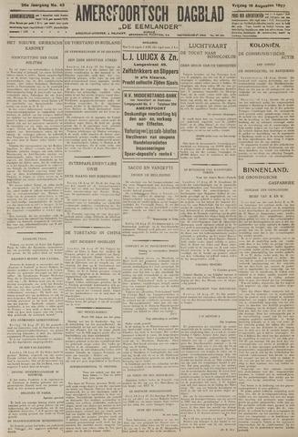 Amersfoortsch Dagblad / De Eemlander 1927-08-19