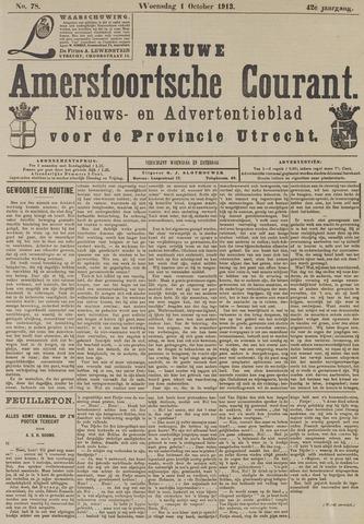 Nieuwe Amersfoortsche Courant 1913-10-01