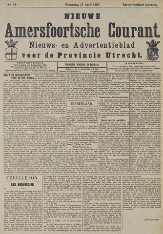 Nieuwe Amersfoortsche Courant 1907-04-17