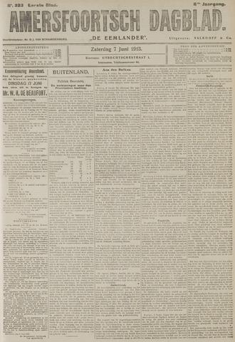 Amersfoortsch Dagblad / De Eemlander 1913-06-07