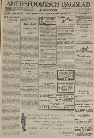 Amersfoortsch Dagblad / De Eemlander 1934-04-14