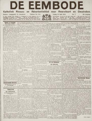 De Eembode 1915-04-23