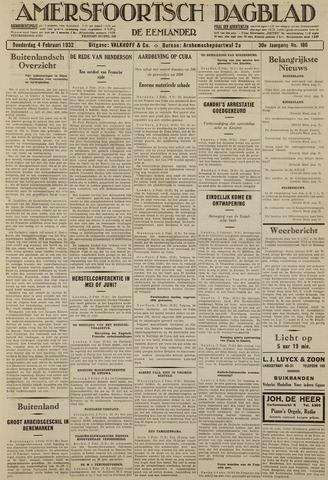 Amersfoortsch Dagblad / De Eemlander 1932-02-04
