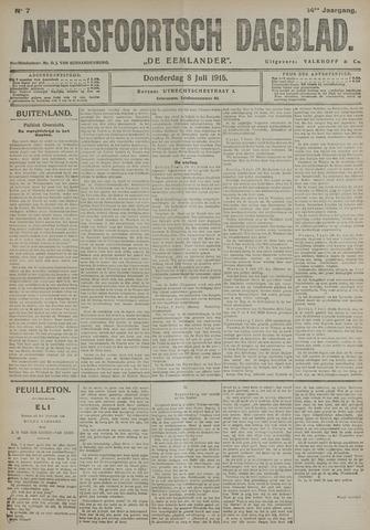 Amersfoortsch Dagblad / De Eemlander 1915-07-08