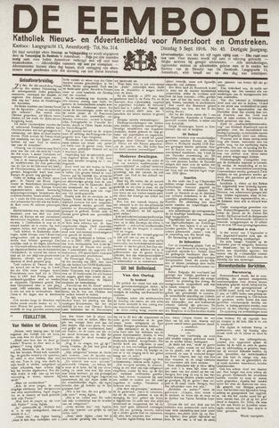De Eembode 1916-09-05