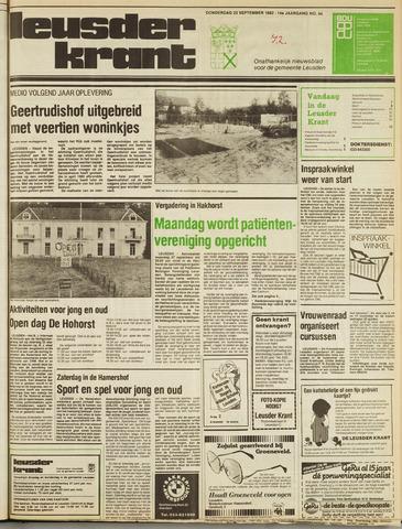 Leusder Krant 1982-09-23