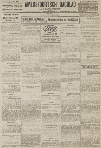 Amersfoortsch Dagblad / De Eemlander 1926-04-15