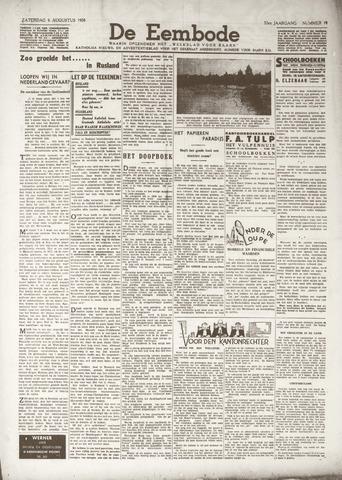 De Eembode 1938-08-06