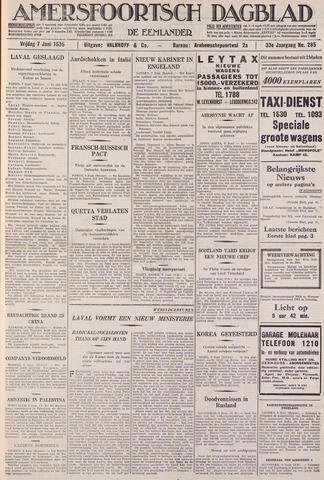 Amersfoortsch Dagblad / De Eemlander 1935-06-07