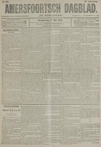 Amersfoortsch Dagblad / De Eemlander 1915-05-27