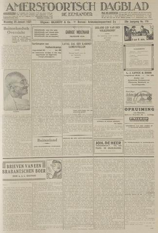 Amersfoortsch Dagblad / De Eemlander 1931-01-26