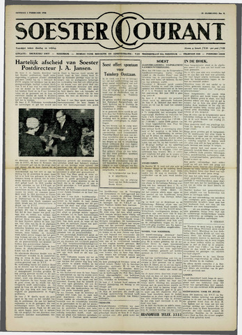 Soester Courant 1960-02-02