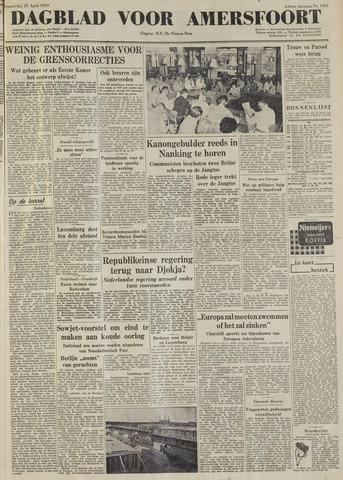 Dagblad voor Amersfoort 1949-04-21