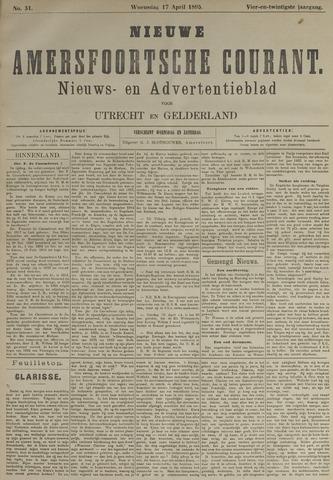Nieuwe Amersfoortsche Courant 1895-04-17