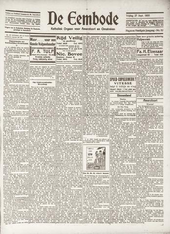 De Eembode 1935-09-27